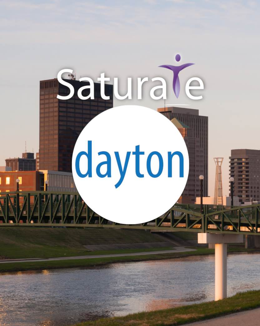 Saturate Dayton Ohio  Header